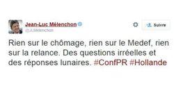 Les réactions à la conférence de presse de François