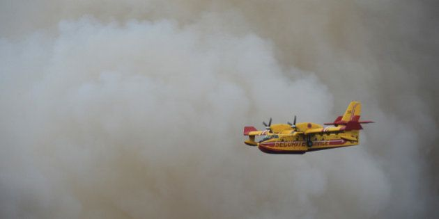 Gironde: un incendie détruit au moins 330 hectares de