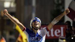 Le Français Thibaut Pinot remporte l'avant-dernière étape du Tour de