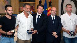 Trois héros de l'attentat de Nice ont été
