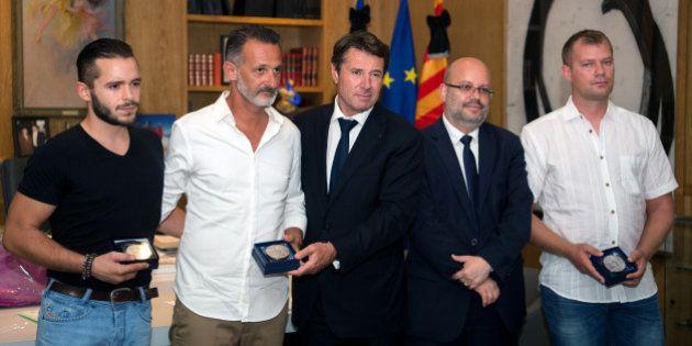 Trois héros de l'attentat de Nice ont reçu la médaille de la