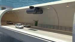 Entre le tunnel sous-marin et le pont, la Norvège pourrait expérimenter les tunnels