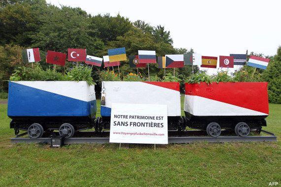 PHOTOS. Hayange: nouvelle polémique pour la mairie FN après une (re)peinture qui passe