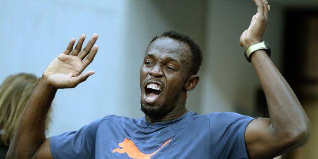 Usain Bolt pulvérise le record du monde sur 100 m en salle à