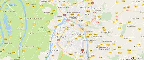 Prise d'otages dans une église de Saint-Etienne-du-Rouvray en Seine-Maritime, le prêtre tué par des terroristes...