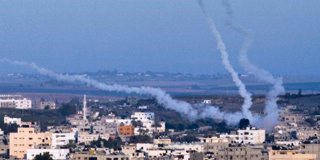 Israël pris sous des feux de Gaza, de Syrie et du