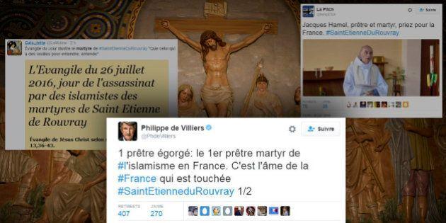 Le Père Jacques Hamel a vécu le martyre à Saint-Etienne-du-Rouvray, mais cela n'en fait pas officiellement...