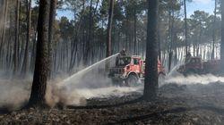 Gironde: déjà 550 hectares détruits en 4 jours dans un gros