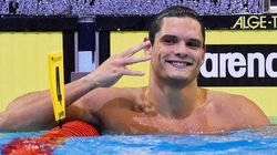 Florent Manaudou champion d'Europe du 50 m nage