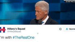 Les partisans de Clinton ont un nouveau hashtag, et c'est Bill qui l'a