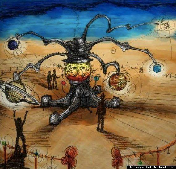 Un premier aperçu du festival Burning Man