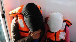 REPORTAGE - Le sauvetage de 26 réfugiés en pleine Mer Égée filmé à 360