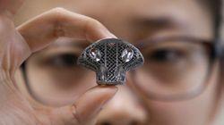 Une vertèbre imprimée en 3D pour remplacer l'os d'un petit garçon attaqué par le