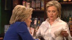 Hillary Clinton imite très bien Donald