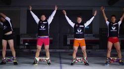 Les pantalons de l'équipe de curling norvégienne refont parler