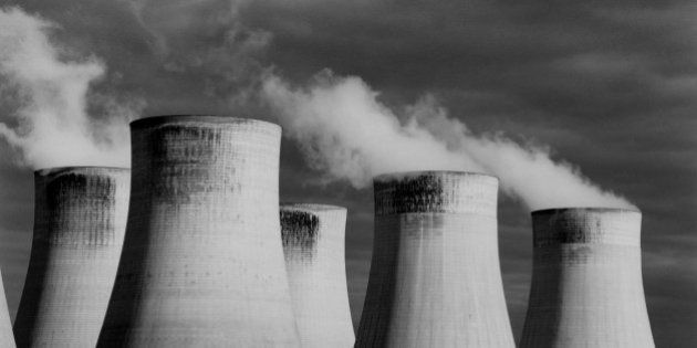 Steaming cooling towers, Ratcliffe Power