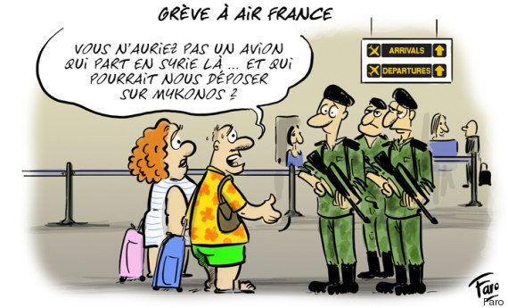 Contourner la grève d'Air France avec l'état