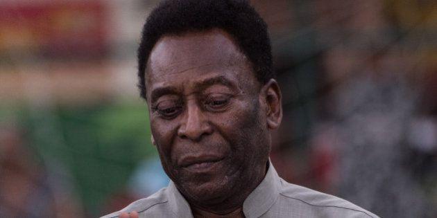 Pelé transféré en soins spécialisés à l'hôpital, son état de santé