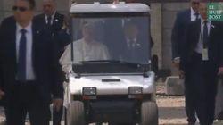 Les images fortes du pape François à