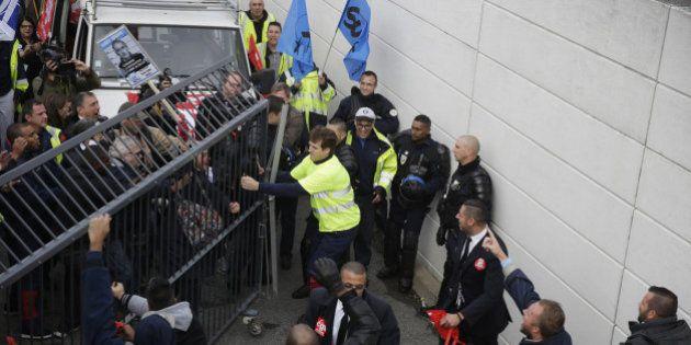Air France: les violences de lundi matin ont fait 7 blessés dont un