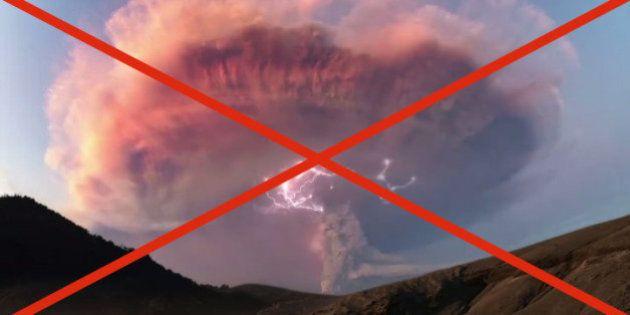 VIDÉO. Les images de l'orage volcanique en Patagonie étaient trafiquées, avoue la