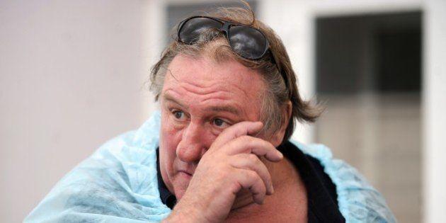Gérard Depardieu interdit d'entrée en Ukraine pour cinq