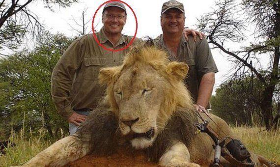 PHOTO. Le lion Cecil tué au Zimbabwe: son chasseur