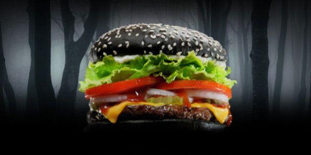 PHOTOS. Burger King et son Whopper noir d'Halloween terrifient les clients... une fois aux