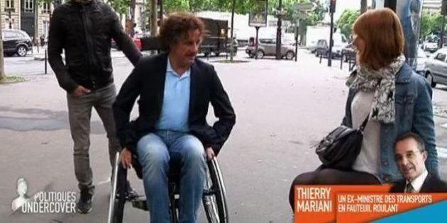 Accessibilité des lieux publics pour les handicapés: Thierry Mariani justifie son abstention