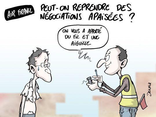 Air France: peut-on reprendre les