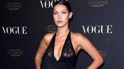 La mannequin Bella Hadid dévoile son piercing au