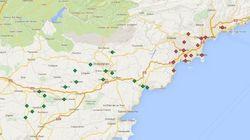 Côte d'Azur: 32 villes déclarées en état de catastrophe