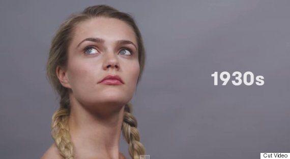 VIDEO. Elle reproduit 100 ans de beauté allemande en 1
