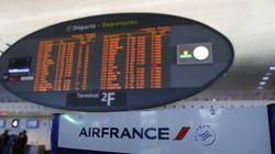 Grève à Air France: 55% des vols annulés