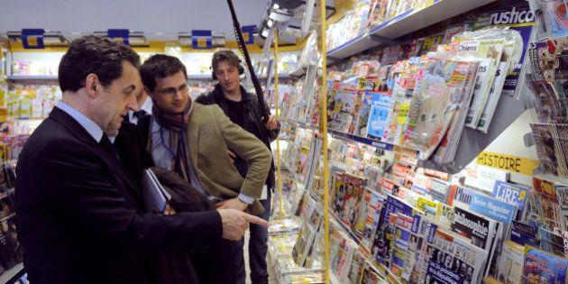 PHOTOS. Retour de Nicolas Sarkozy: la presse étrangère ne s'enflamme