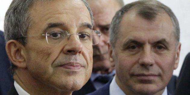 Parlementaires en Crimée: 10 députés français interdits d'entrée en