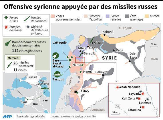 Syrie : Avec l'appui de la Russie, le régime de Bachar el-Assad lance une