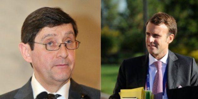 Les nouveaux ministres du gouvernement Valls II: Emmanuel Macron, Patrick Kanner, Thomas