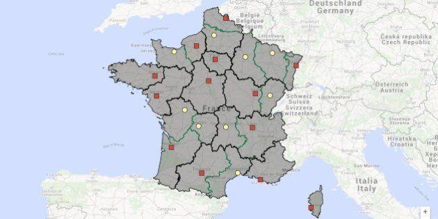 Nouvelles régions: les capitales régionales désignées par le