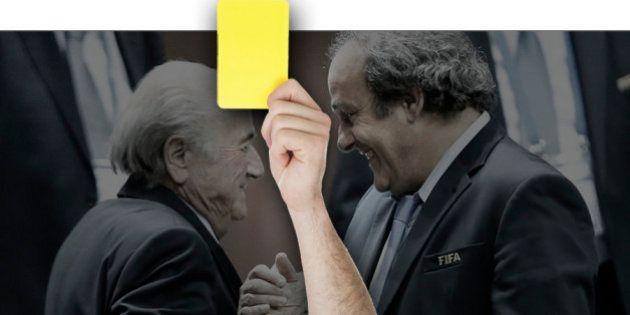 Michel Platini suspendu 90 jours par le comité d'éthique de la Fifa comme Sepp