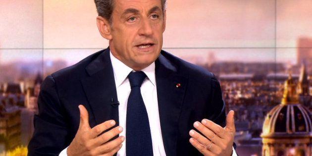 Revivez l'interview de Nicolas Sarkozy au JT de France