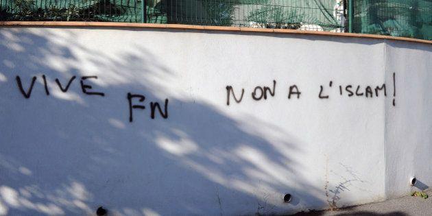 Béziers: des tags islamophobes près de la mosquée de la