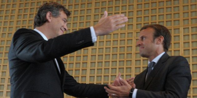 Emmanuel Macron à Arnaud Montebourg: