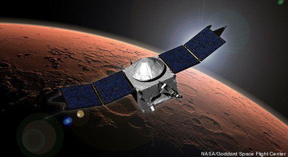 La sonde américaine Maven réussit son insertion en orbite