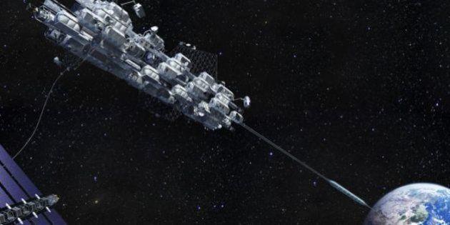 Un ascenseur spatial pour aller en orbite dans moins de 40 ans