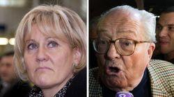Nadine Morano - Jean-Marie Le Pen: même