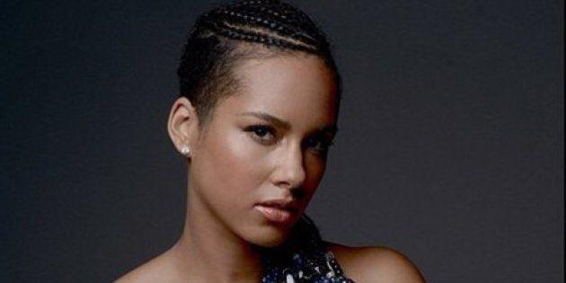 PHOTOS. Alicia Keys nue pour la bonne
