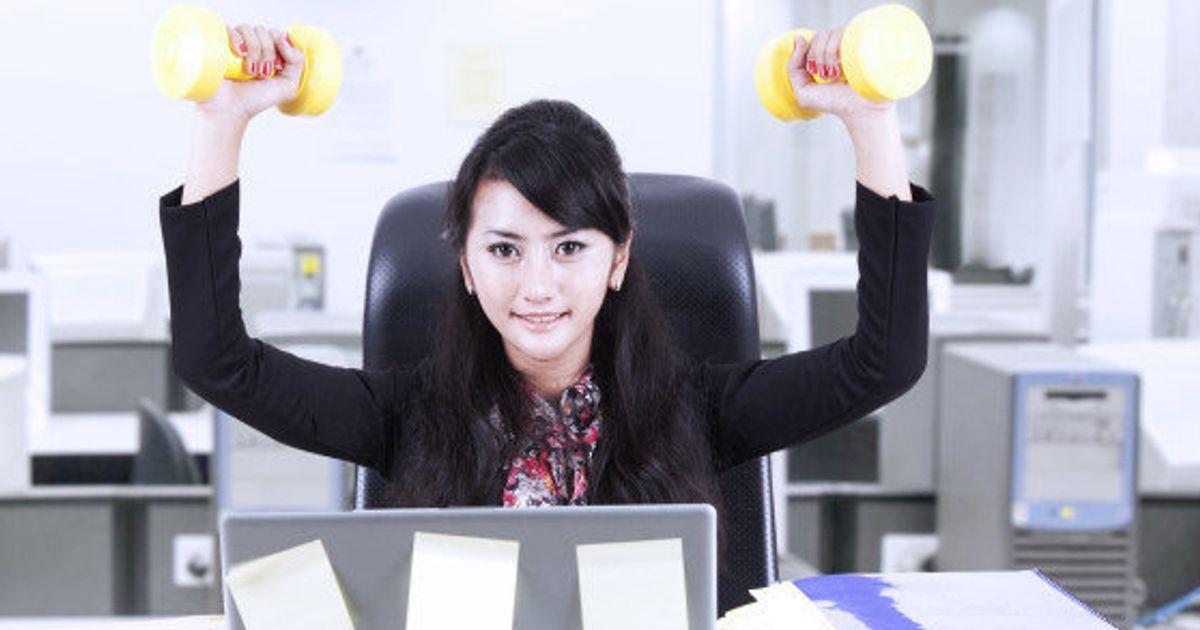Pour Au Muscler Post BureauLe 5 Se Exercices Huffington NPkXZ0O8wn
