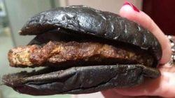 Le hamburger noir de Burger King est encore moins appétissant en