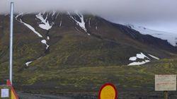 Islande: le volcan Bardarbunga en éruption, survol